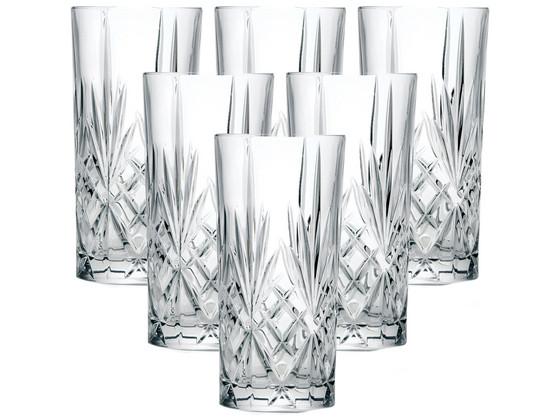 Korting 6x RCR Melodia Longdrinkglas