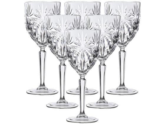 Korting 6x RCR Oasis Wijnglas