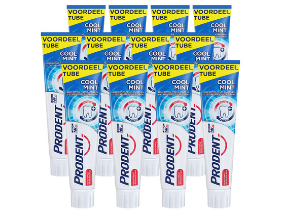 Korting 12x Prodent TP Coolmint | 125 ml