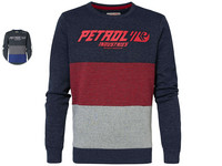 Petrol Sweater R-Neck