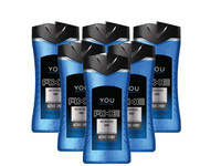 6x AXE You Refreshed Douchegel | 250 ml