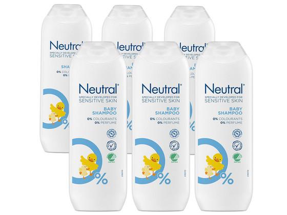 Korting 6x Neutral Babyshampoo   250 ml