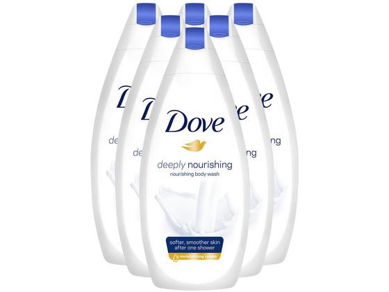 Korting 6x Dove Deeply Nourishing   750ml
