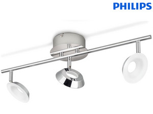 Philips Armatuur | Chroom | 3x 5 W