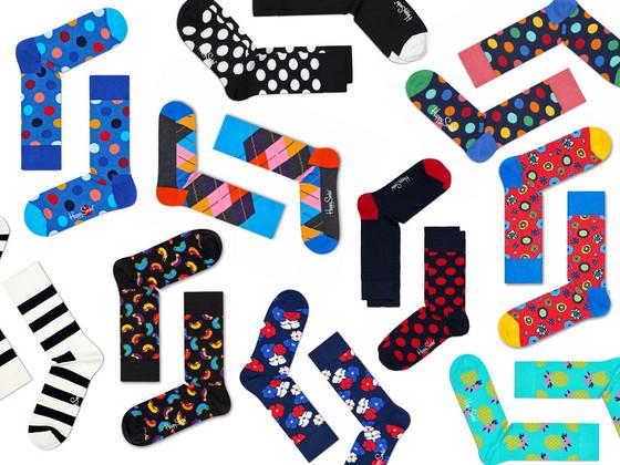 Foto 6 Paar Happy Socks in Mystery Pack