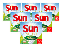 228x Sun Powered by Nature Geschirr-Tabs