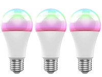 3x żarówka Woox Zigbee Full Color Smart LED | E27