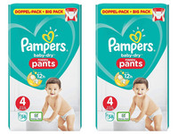 Pampers Baby Dry Pants | Maat 4 | 116 st.