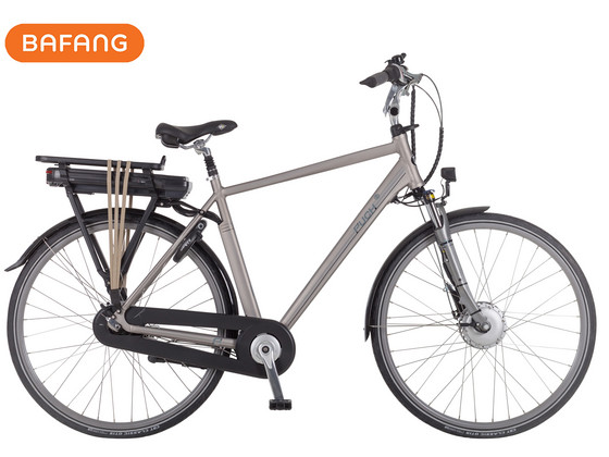 Korting Puch E Ambient Fiets Titanium 55 cm | Bafang