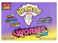 Warheads Sour Worms | 12x 113 gr