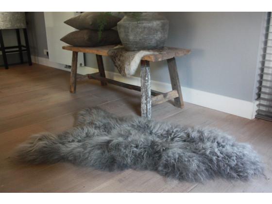 Korting Natural Luxury – IJslands Schapenvacht Silver Grey