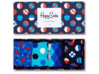 Happy Socks Geschenkbox | Navy