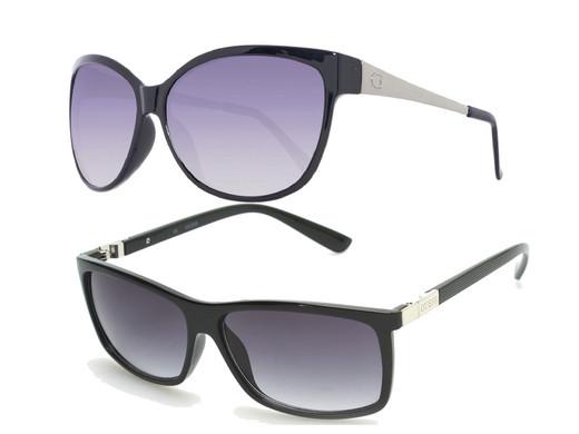 6d857544dec269 Guess Sonnenbrille GUF252 für Damen & GUF118 für Herren - Internet's ...