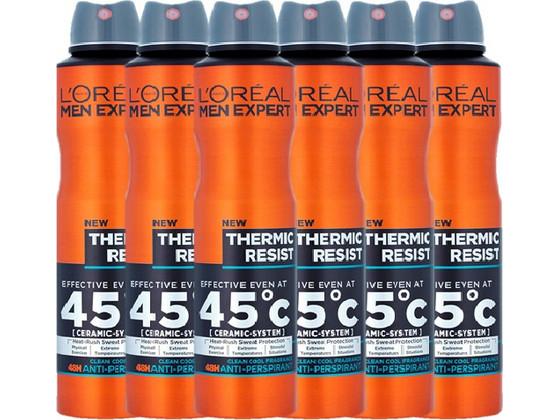 Korting 6x L'Oréal Paris Men Expert Thermic Resist Parijs