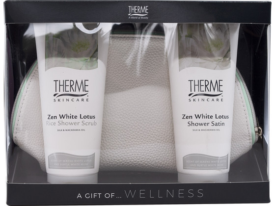 Korting Therme Cadeauset White Lotus