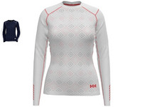Helly Hansen W Lifa Active Graphic Crew Longsleeve