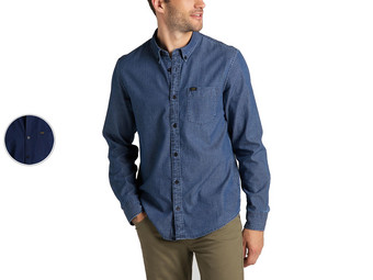 Lee Button-Down-Hemd | Washed Blue