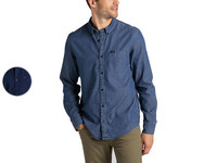 Lee Button Down Shirt | Blue| Heren