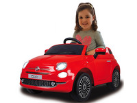 Jamara Fiat 500 Red Mini-Auto für Kinder