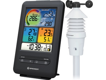 Bresser Windsensor en Wifi Weerstation
