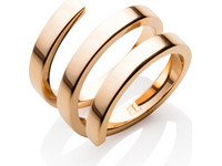 Abbott Lyon Entwine Ring | Rose Gold