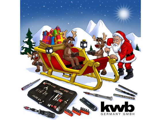 KWB Tools Xmas Adventskalender
