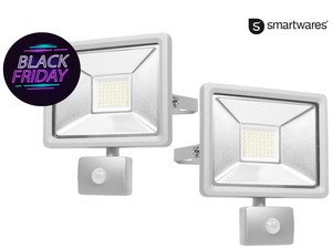2x reflektor Smartwares Security | 30 W