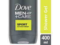 6x Dove Men+Care Active Fresh Duschgel