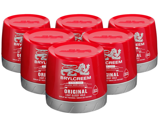 Korting Brylcreem Haargel 6x 250 ml