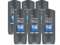 6x Dove Men Cool Fresh Duschgel