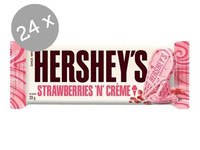 24x Hersheys Strawberries N Cream 39 gr