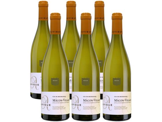 Korting 6x Chardonnay Auvigue Macon Village