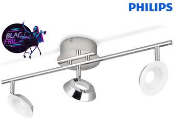 Philips Mackinaw Armatuur | Chroom | 3x 5 W | 9 V