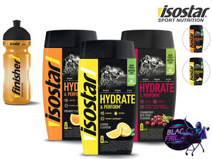 3x Isostar Hydrate & Perform