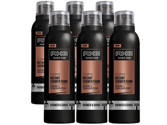 6x Axe Shower Foam | 6x 200 ml