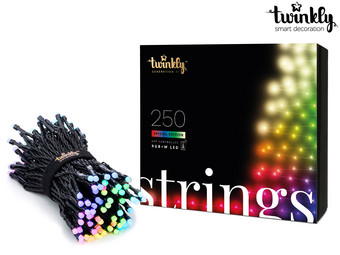 Smart Kerstverlichting RBG + W (250 LED's)