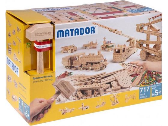 Korting Matador Explorer Bouwset 717 delig