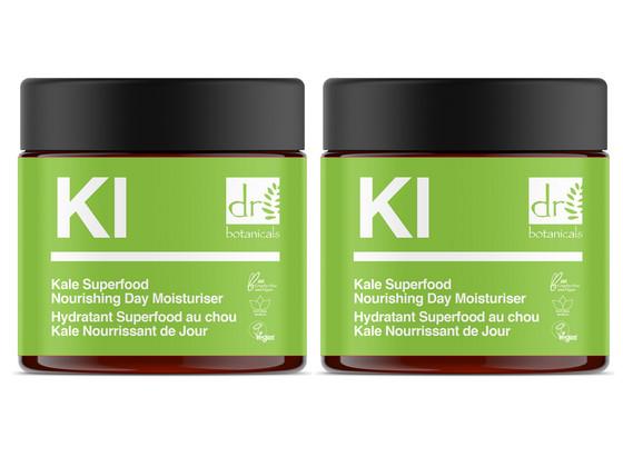 Korting 2x Kale Superfood Voedende Dagcrème