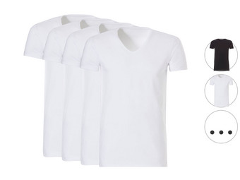 4x Ten Cate Basic Long T-Shirt | Slim Fit