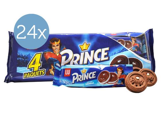 Korting 24x LU Prince Fourre Vanille 4x60 gram
