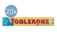 20x Toblerone Crunchy Almonds