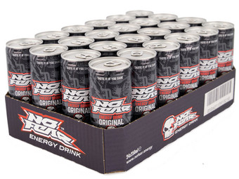 24x No Fear Energy Drink | 25 cl