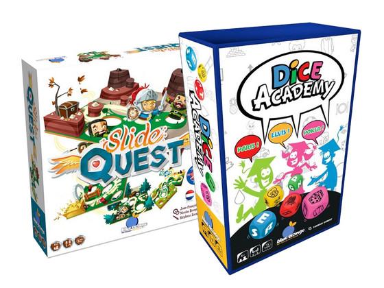 Korting Slide Quest en Dice Academy