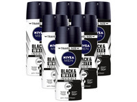6x dezodorant Nivea Men Invisible Black & White