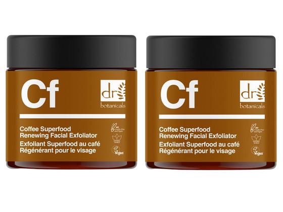 Korting 2x Coffee Superfood Gezichtsscrub