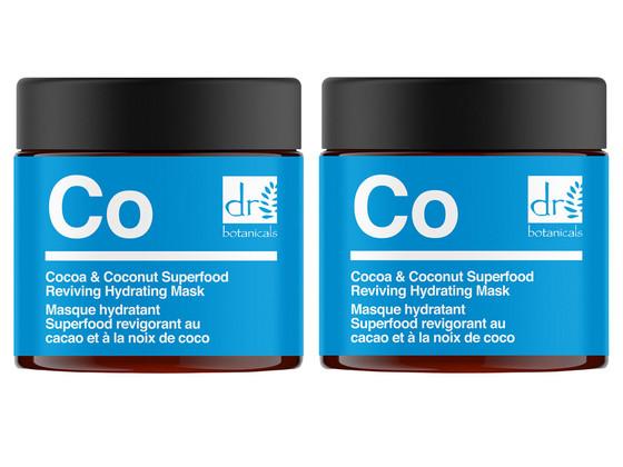 Korting 2x Cocoa en Coconut Superfood Masker