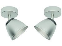2x Philips Plafondspot County LED 4W