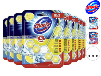 18x Glorix Power WC-Blok