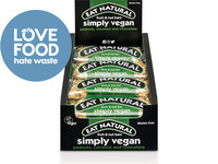 12x Eat Natural Simply Vegan Riegel