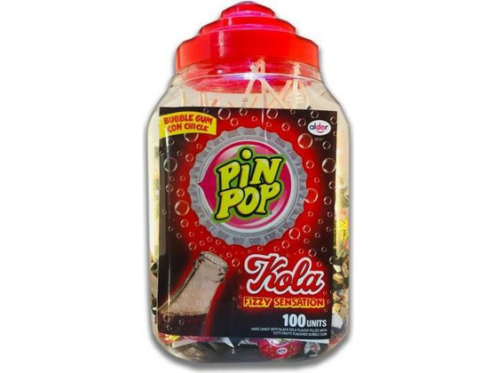 Korting 100x Pin Pop Cola Bubbleknots Lolly's